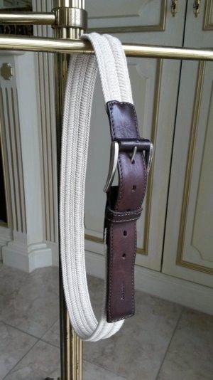 Schöne Gürtel geflochten mit echtes Leder von Windsor wie neu!