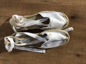 H&M Espadrille sandalen wit