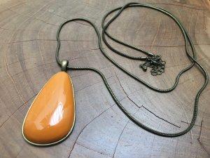Six Collar naranja dorado-color bronce
