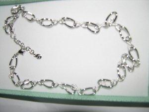 """Schöne Halskette von Pierre Lang """"Endless"""" Neu OVP 46 cm"""