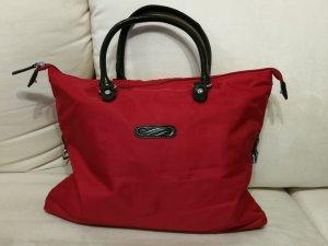 Carry Bag neon red nylon