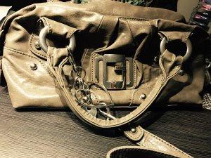 Guess Bolso marrón grisáceo-color plata