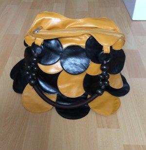 Borsetta giallo-nero nessuna indicazione sul materiale disponibile