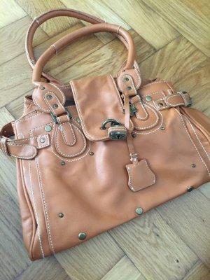 Schöne Handtasche von Friis & Company, mit vielen Details, Kunstleder