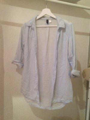 Schöne Hellblaue H&M Bluse