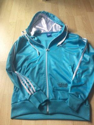 Schöne hellblaue Jacke von Adidas