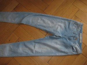 Schöne hellblaue Skinny, Stretch Jeans