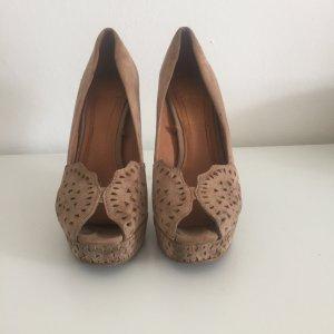 Schöne high heels aus Wildleder