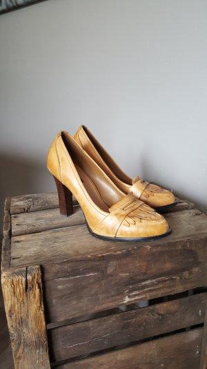 Schöne High Heels von Zara Gr 38 - Mokkassins Style