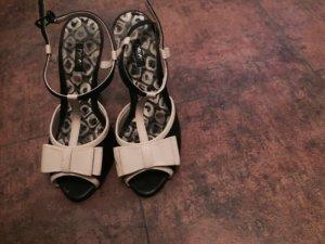 Platform High-Heeled Sandal black