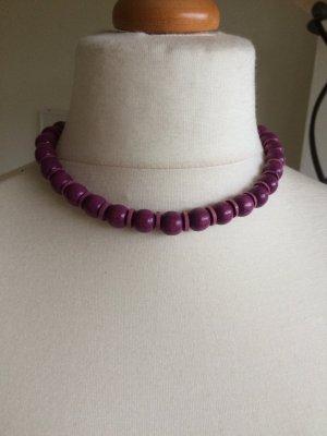 Chaîne violet-violet foncé