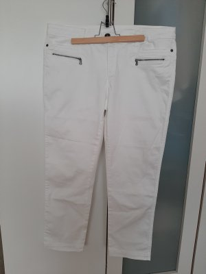 Street One 7/8 Length Trousers white