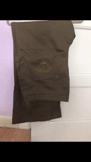 Pantalone fitness cachi-marrone chiaro