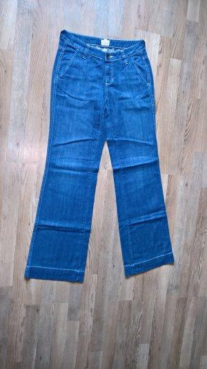 Tom Tailor Jeans marlene blu Cotone