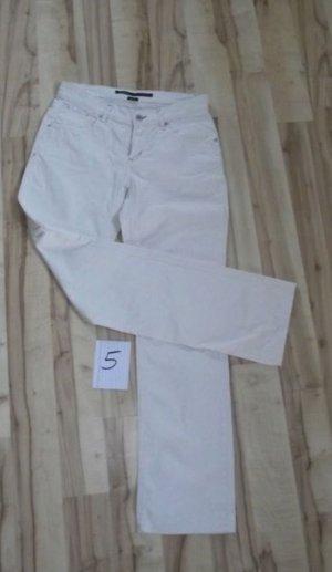 Marc O'Polo Pantalone cinque tasche bianco