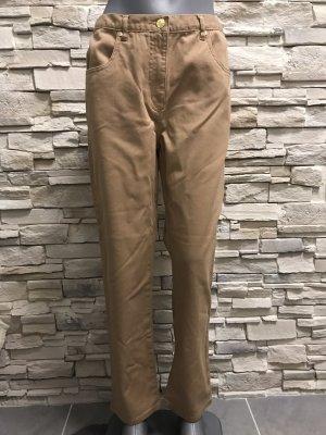 Pantalon strech brun sable