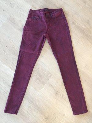 schöne Hose von Maison Scotch - Farbe rotwein/bordeaux - W29/L32 - 2x getragen