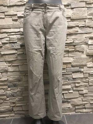 Toni Pantalon strech beige clair