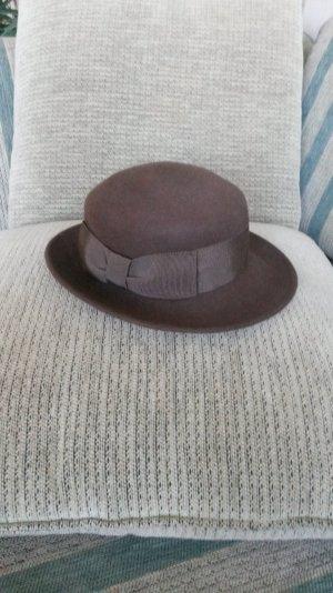Chapeau marron clair-brun