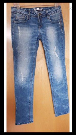 Low Rise Jeans blue