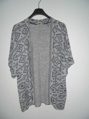 Clockhouse Veste chemise gris clair-noir coton