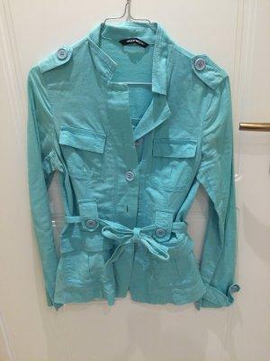Schöne Jacke , Türkis blau