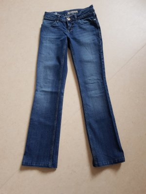 AJC Low Rise Jeans steel blue