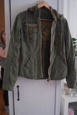 Bershka Jacket khaki