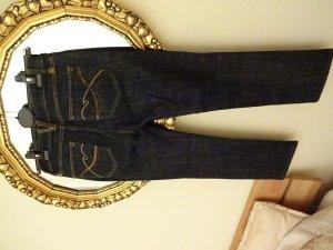 Schöne Jeans in Dunkelblau, straight, D36