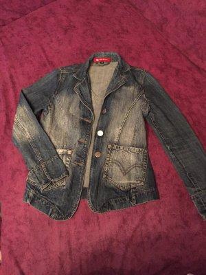 Schöne Jeans Jacke gr. 38 tailliert