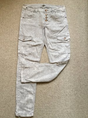 s.Oliver Baggy Jeans silver-colored-light grey