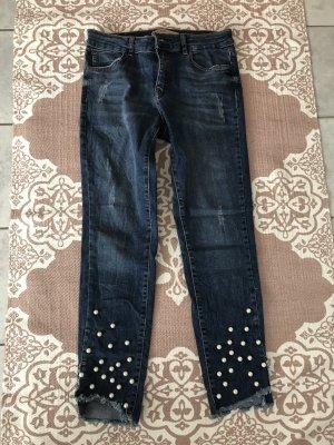 Zara Jeans a 7/8 blu scuro