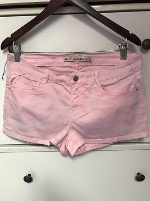Schöne Jeans-Schörts rose von Zara Gr 42
