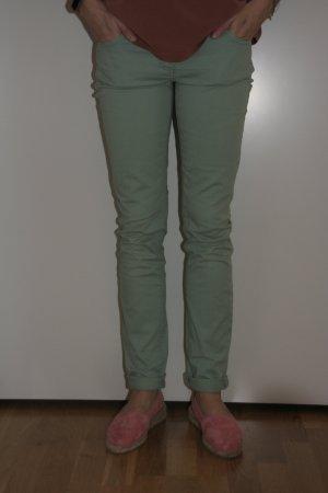 Schöne Jeans, türkisfarben
