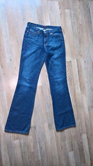 Big Star Boot Cut Jeans blue cotton