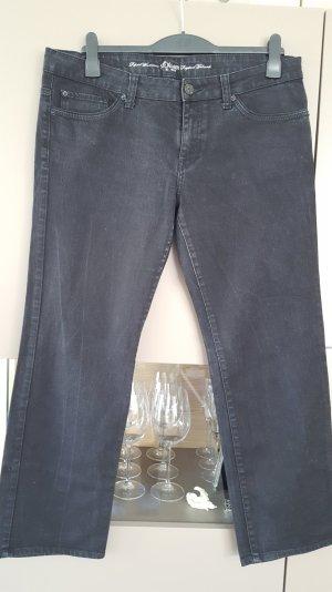 Schöne Jeans von s.Oliver, schwarz, used-look
