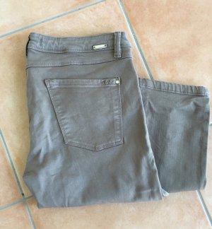 Zara Jeans skinny gris brun