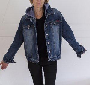 schöne Jeansjacke für Damen, mit extra Innenjacke, Gr. 40