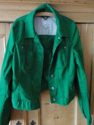 Schöne Jeansjacke in Grün