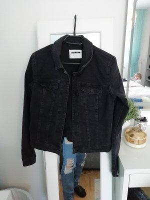 Noisy May Veste en jean noir-gris anthracite