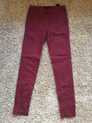 H&M Jegging bordeau