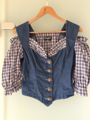 Folkloristische blouse veelkleurig