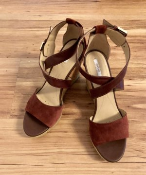Geox High-Heeled Sandals russet