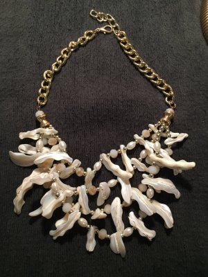 Shell Necklace oatmeal-natural white