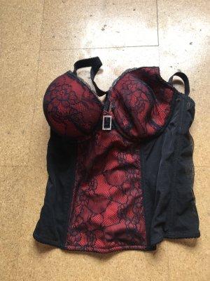 b.p.c. Bonprix Collection Corsage black-red