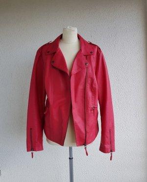 John Baner Biker Jacket multicolored imitation leather