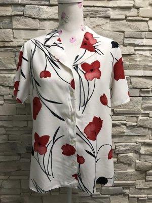 Schöne Kurzärmlig Bluse von Fabiani Gr 38