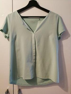 Schöne Kurzarm-Bluse von s.Oliver Premium