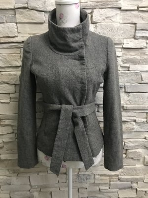 H&M Wool Jacket silver-colored