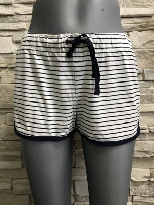 Atmosphere Pantalone corto bianco-blu scuro
